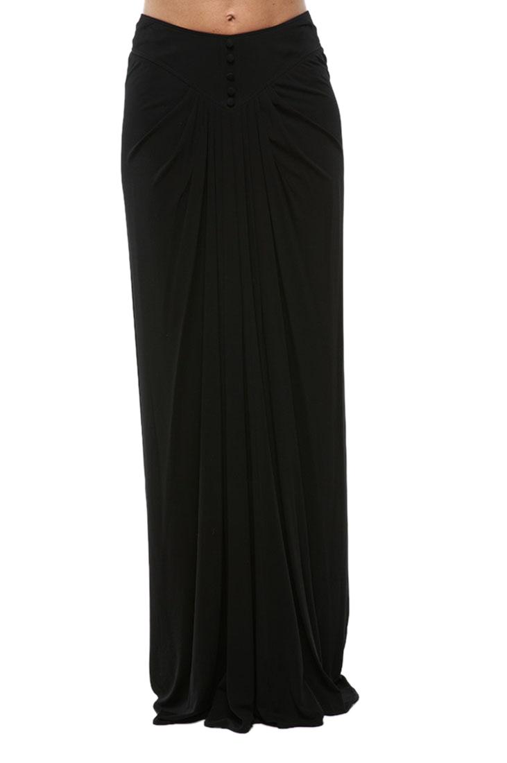 Roberto Cavalli Long Skirt Black