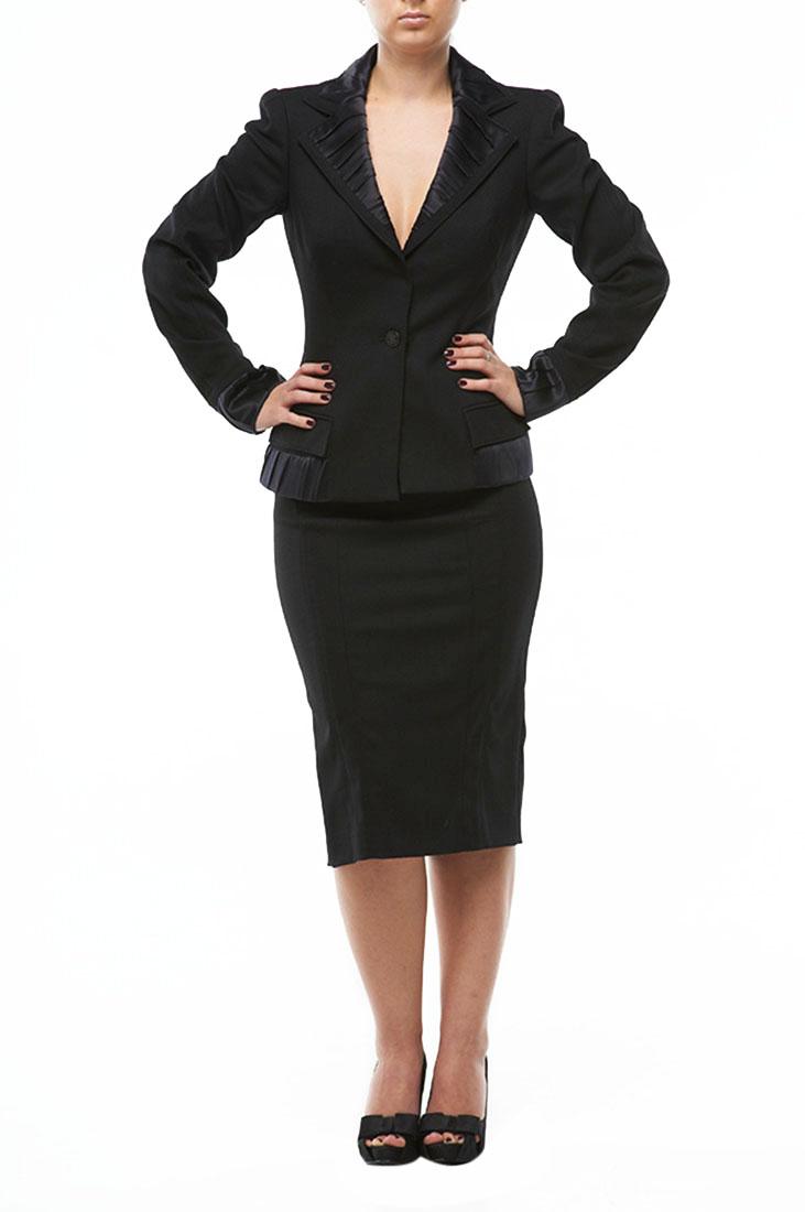 Roberto Cavalli Women's Business Suit Black