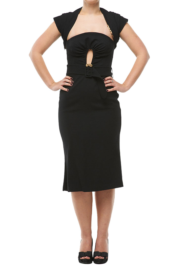 Roberto Cavalli Corset Dress Black