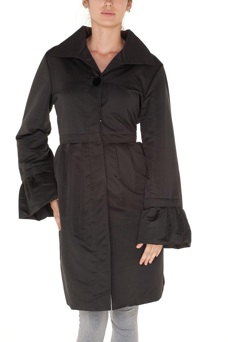 Armani Collezioni BLACK Polyester Coat