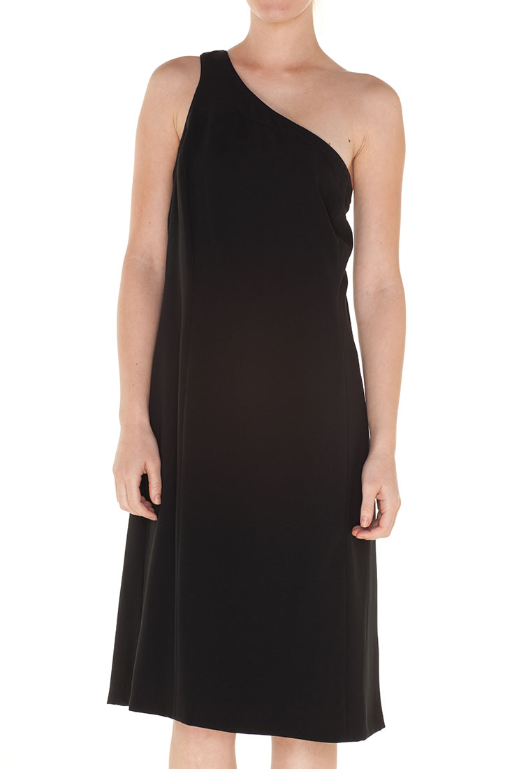 Armani Collezioni BLACK Polyester Knee Length Dress