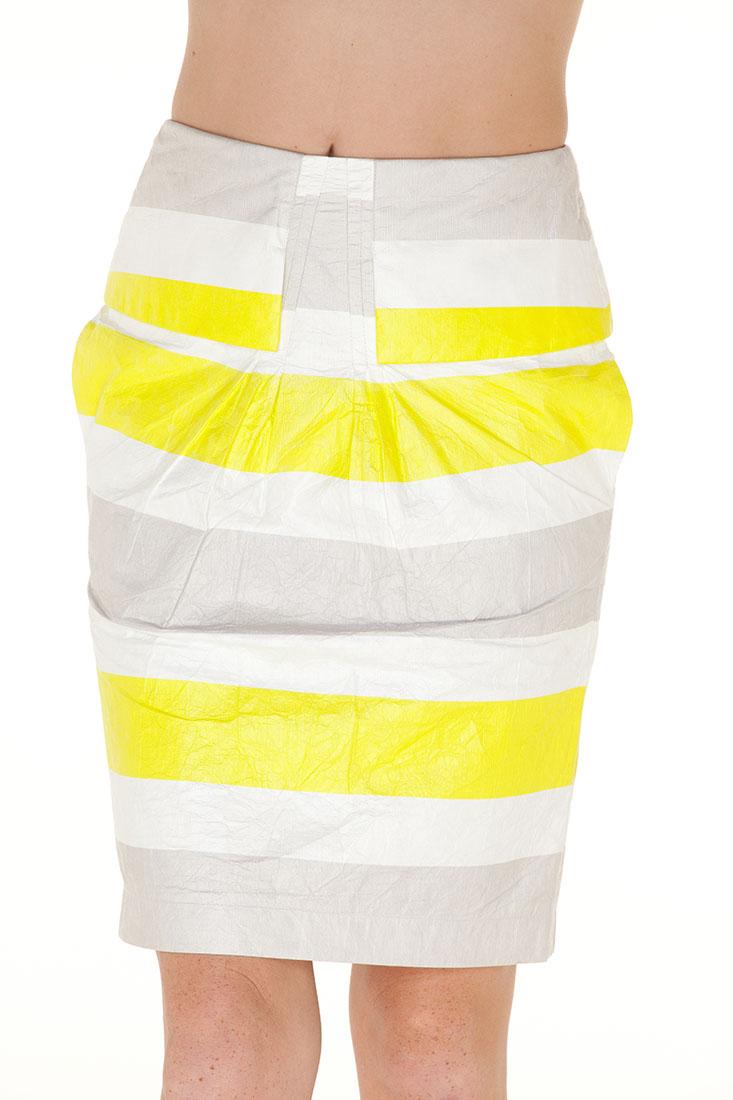 Emporio Armani WHITE PAPER Knee Length Skirt