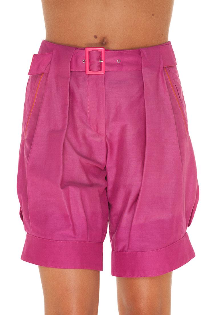 Emporio Armani PURPLE Cotton Short