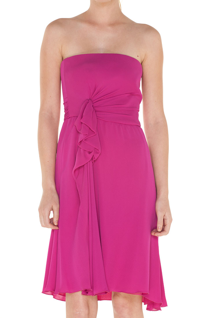 Armani Collezioni PINK Silk Short Dress