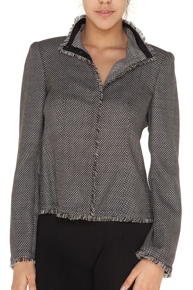 Armani Collezioni Grey Virgin Wool Jacket
