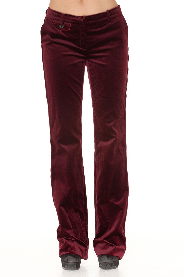 DG Red Cotton Pants Trousers