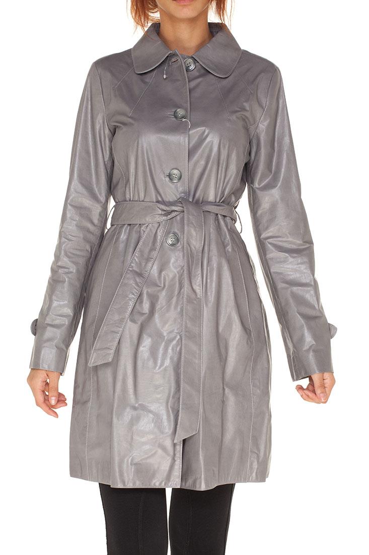 Armani Collezioni Grey VITELLO Coat