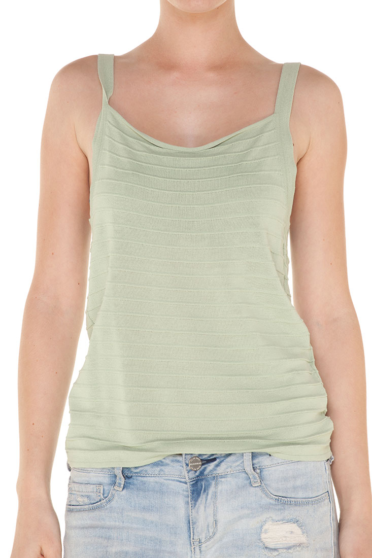 Armani Collezioni GREEN Rayon Sleeveless Top Blouse