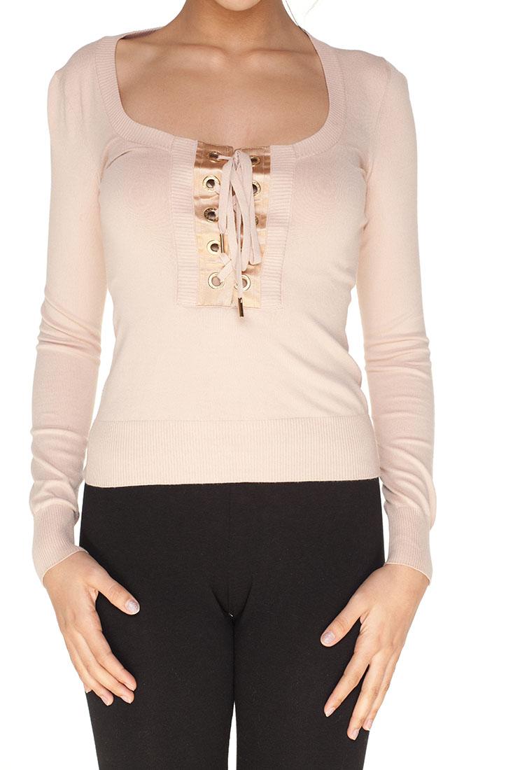 Dolce Gabbana Beige Viscose Sweater