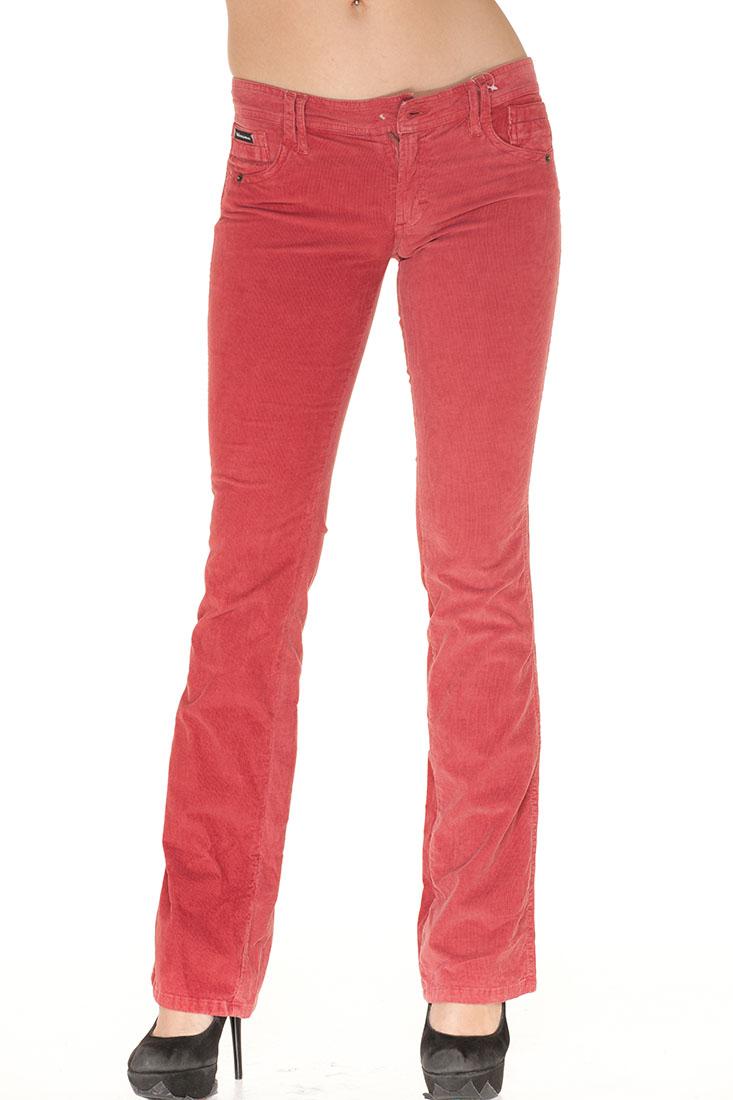 DG Red Cotton Jeans