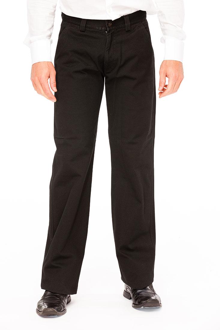 Emporio Armani Black Cotton Jean