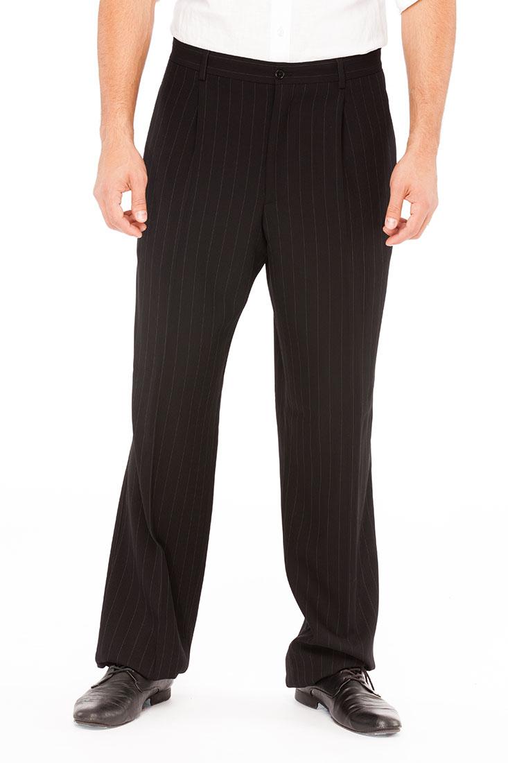 Giorgio Armani BLACK Wool Pants Trousers