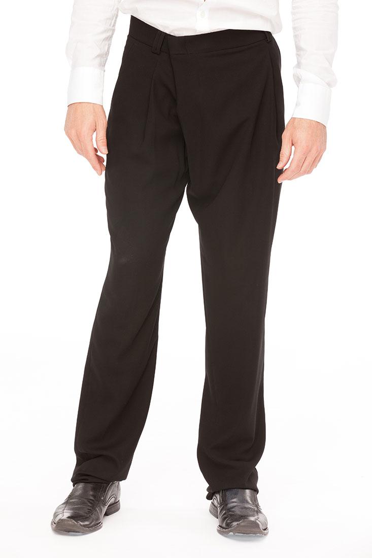 Emporio Armani Black Polyester Pants Trousers