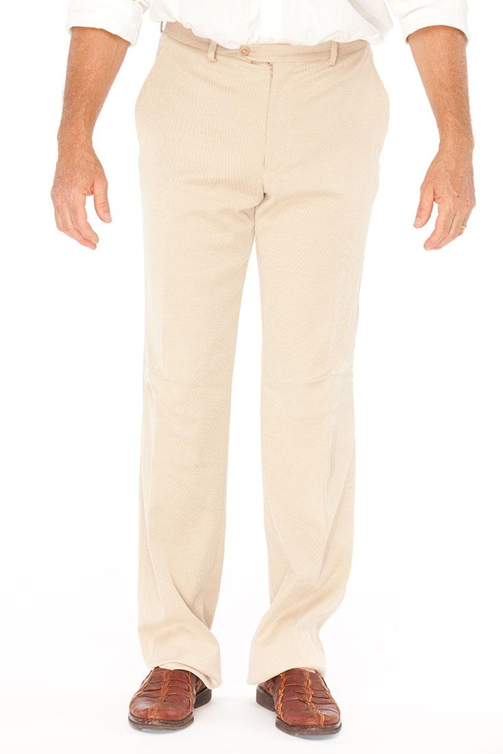 Armani Collezioni Beige Cotton Pants Trousers