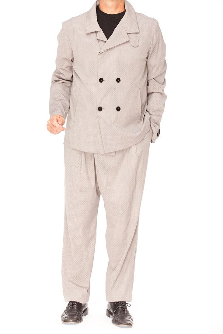 Emporio Armani Grey Virgin Wool Suit