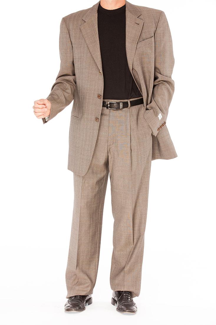 Armani Collezioni BROWN Wool Suit