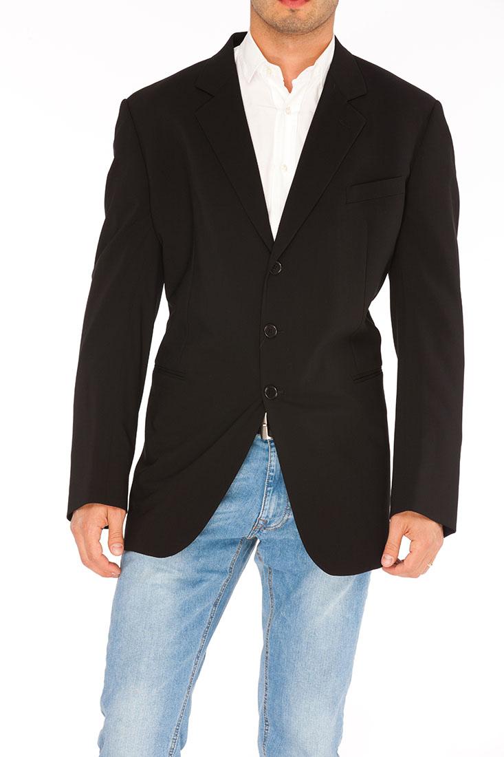 Giorgio Armani BLACK Wool Jacket Coat