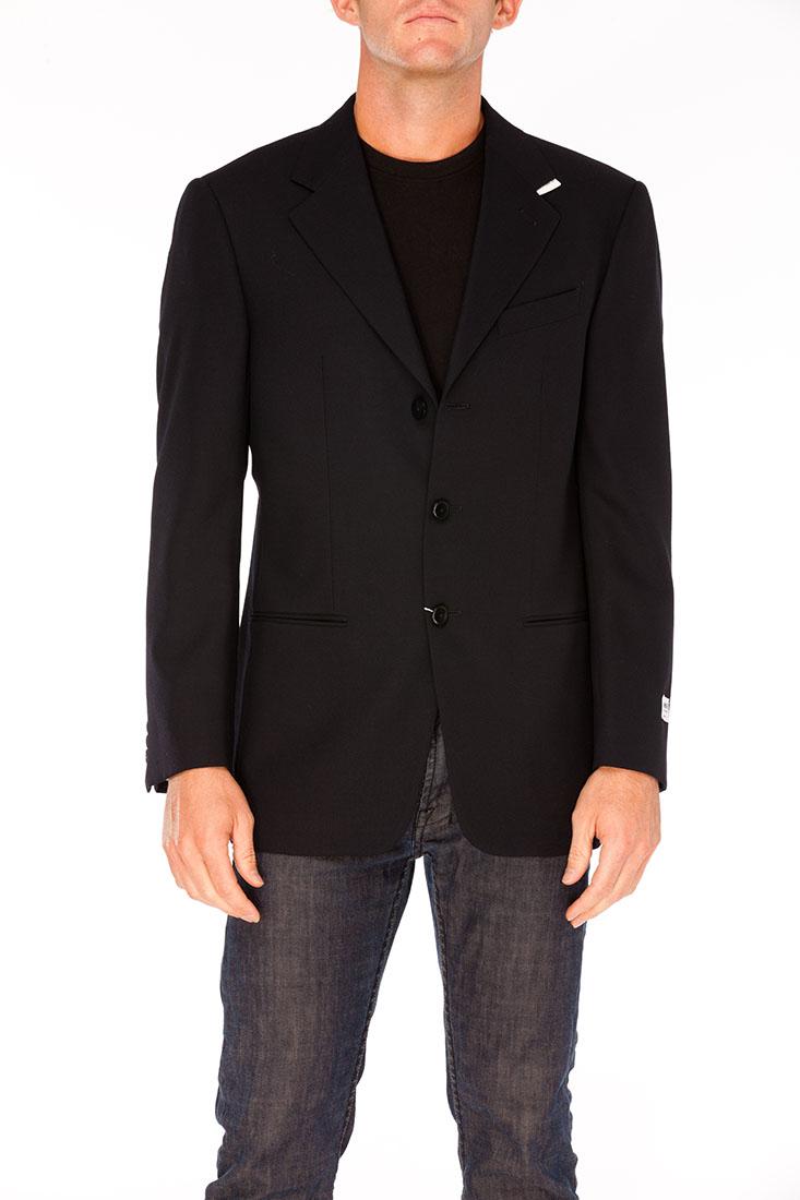 Armani Collezioni BLUE Wool Jacket Coat