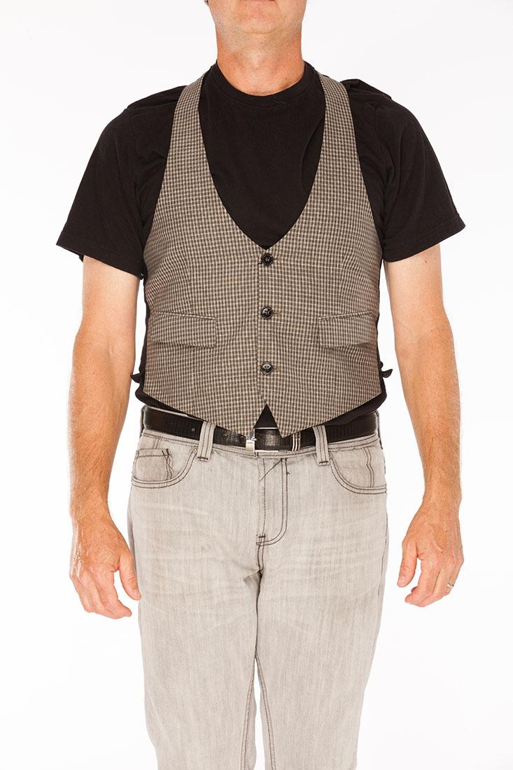 Emporio Armani Green Virgin Wool Vest