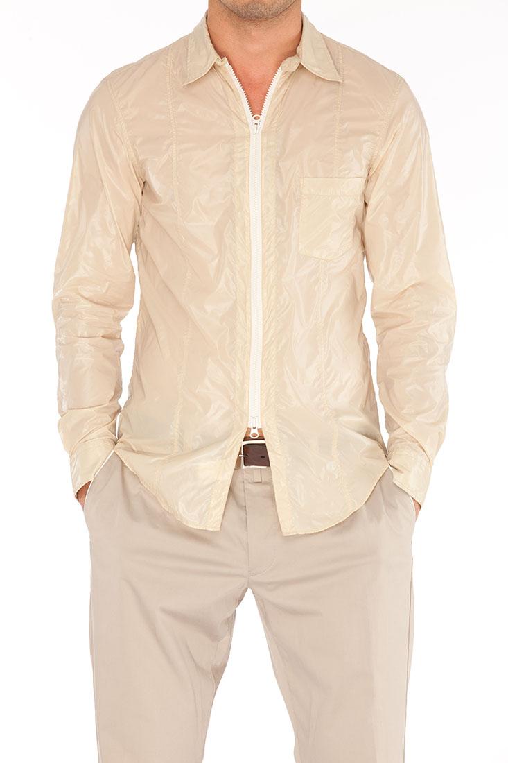 Emporio Armani BEIGE Polyamid Shirt