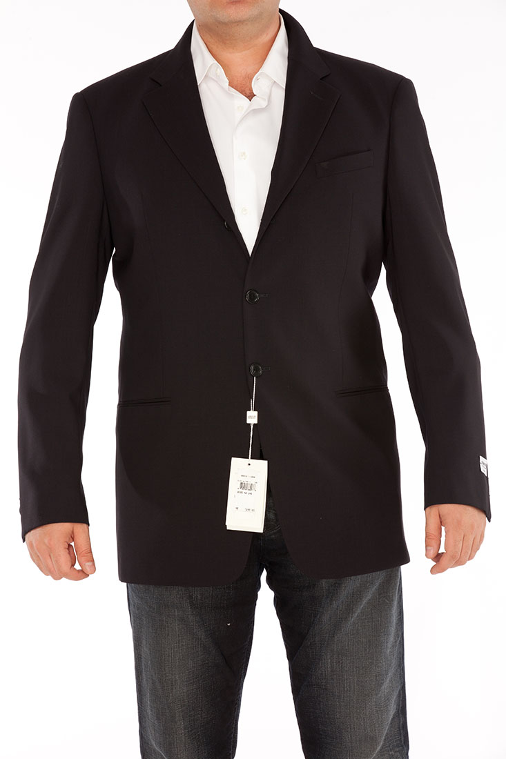 Armani Collezioni BLACK Wool Jacket Coat