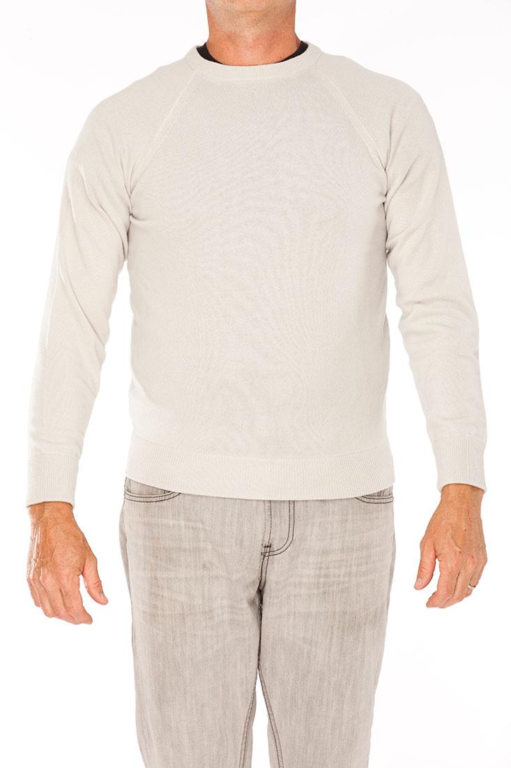 Giorgio Armani Grey Cashmere Sweater