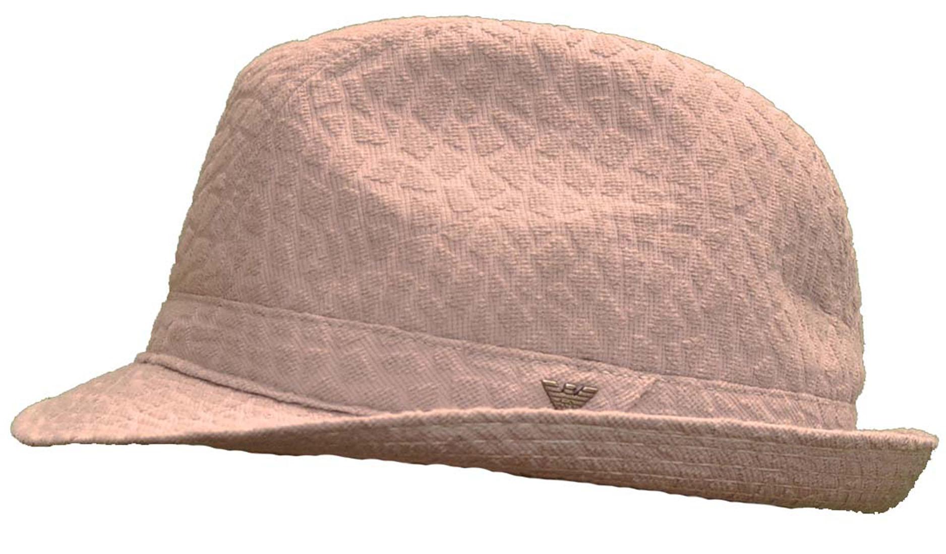Emporio Armani Grey Polyamid Hat