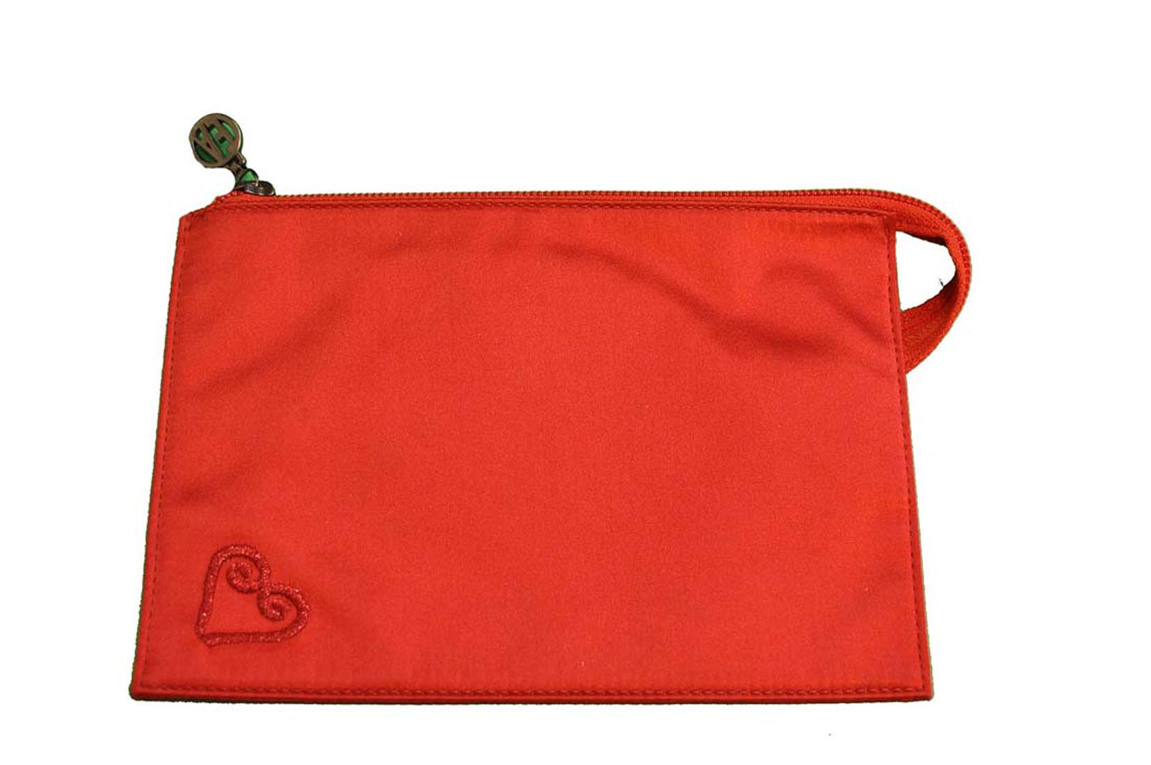 Emporio Armani RED Handbag Purse