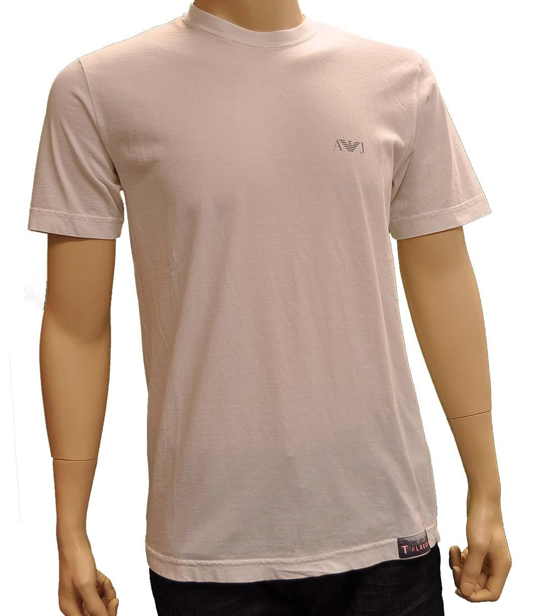 Armani Jeans White Cotton TShirt
