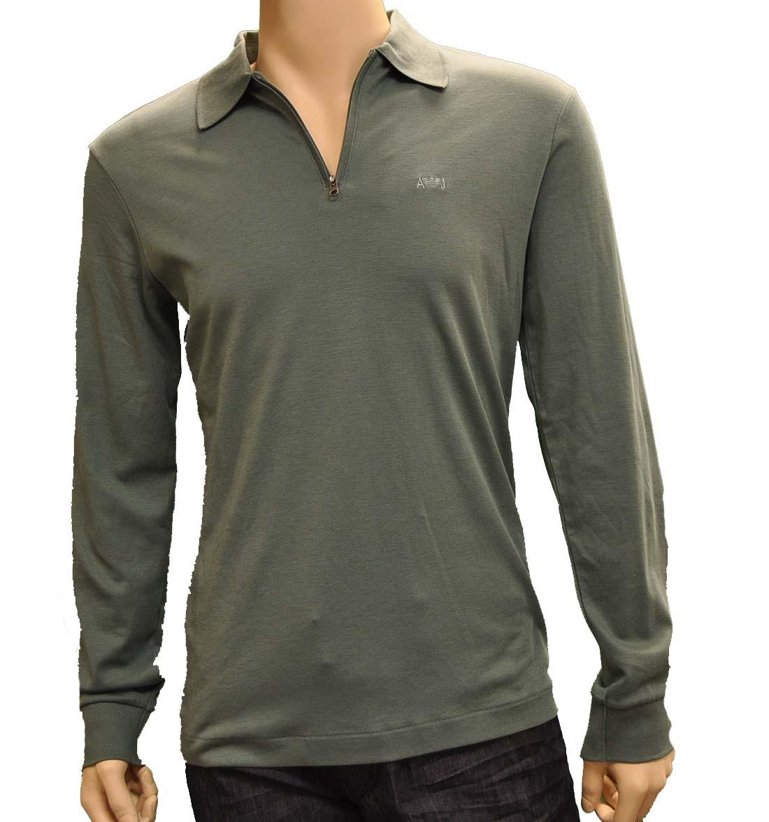 Armani Jeans Green Cotton Shirt