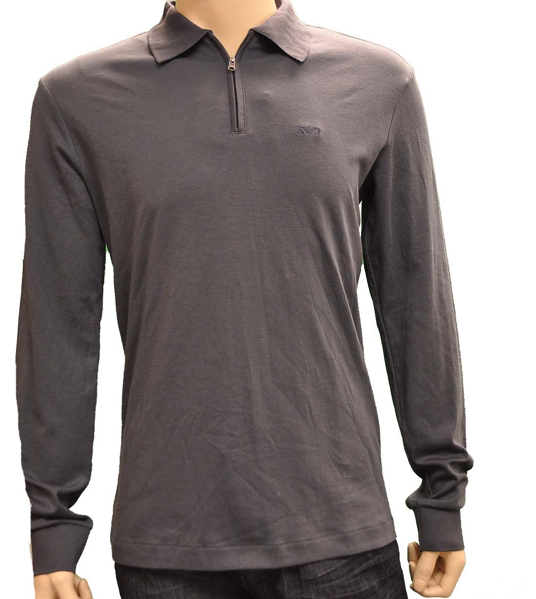 Armani Jeans GRAY Cotton Shirt