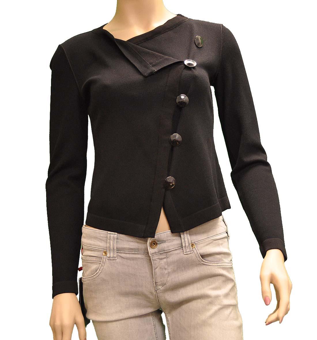Armani Collezioni Black Viscose Jacket