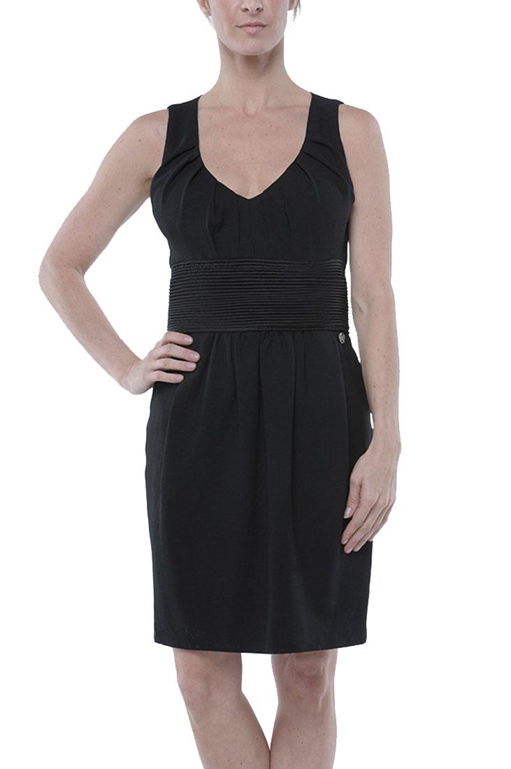 Roberto Cavalli Ruffled Dress Black