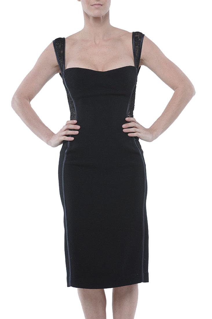 Roberto Cavalli Skinny Dress Black