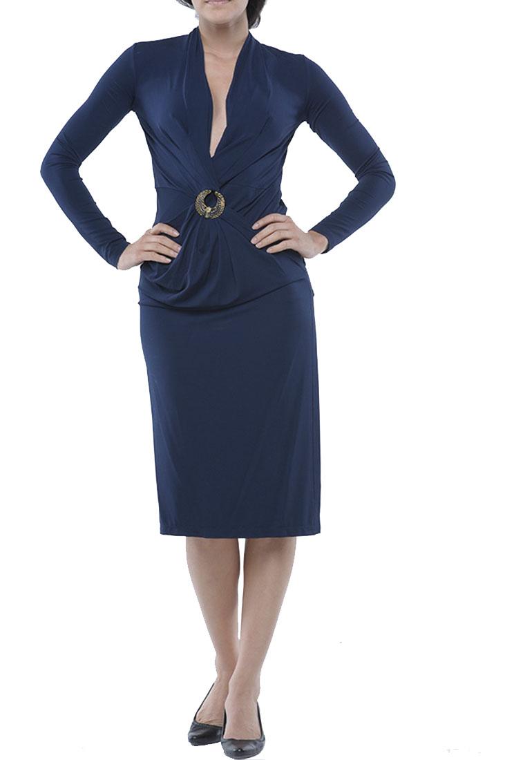 Roberto Cavalli Skinny Dress Navy