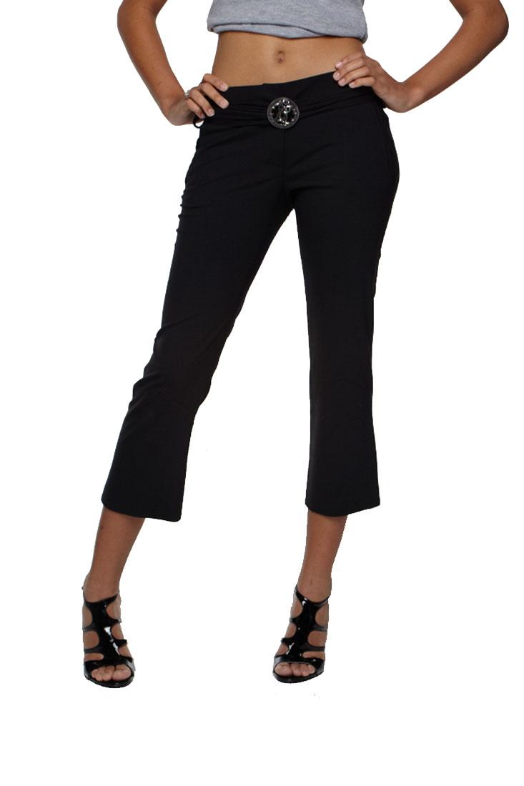 Roberto Cavalli Women's Capri Pants Black