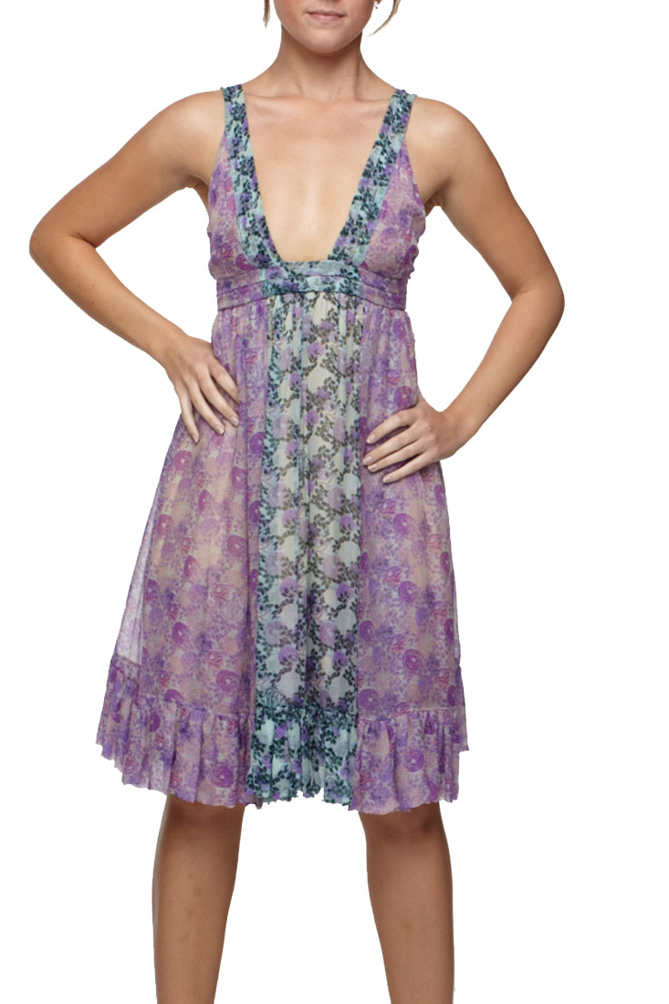 Roberto Cavalli Flare Dress