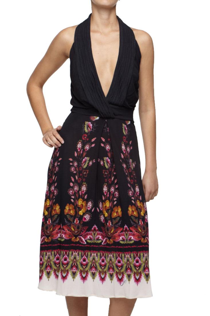 Roberto Cavalli Floral Dress
