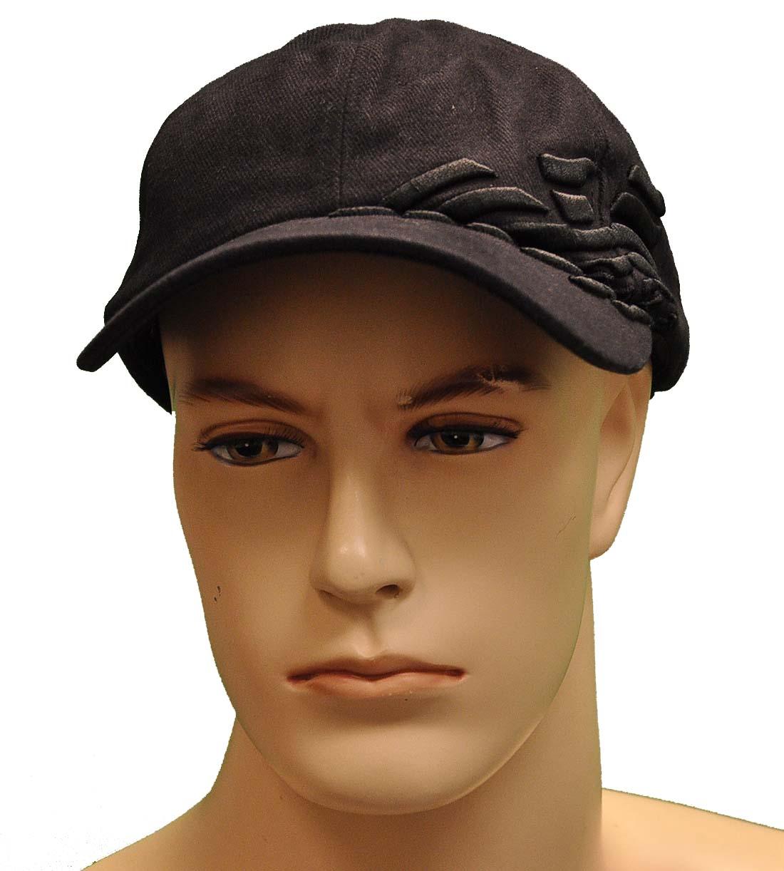 Emporio Armani Black Cotton Hat
