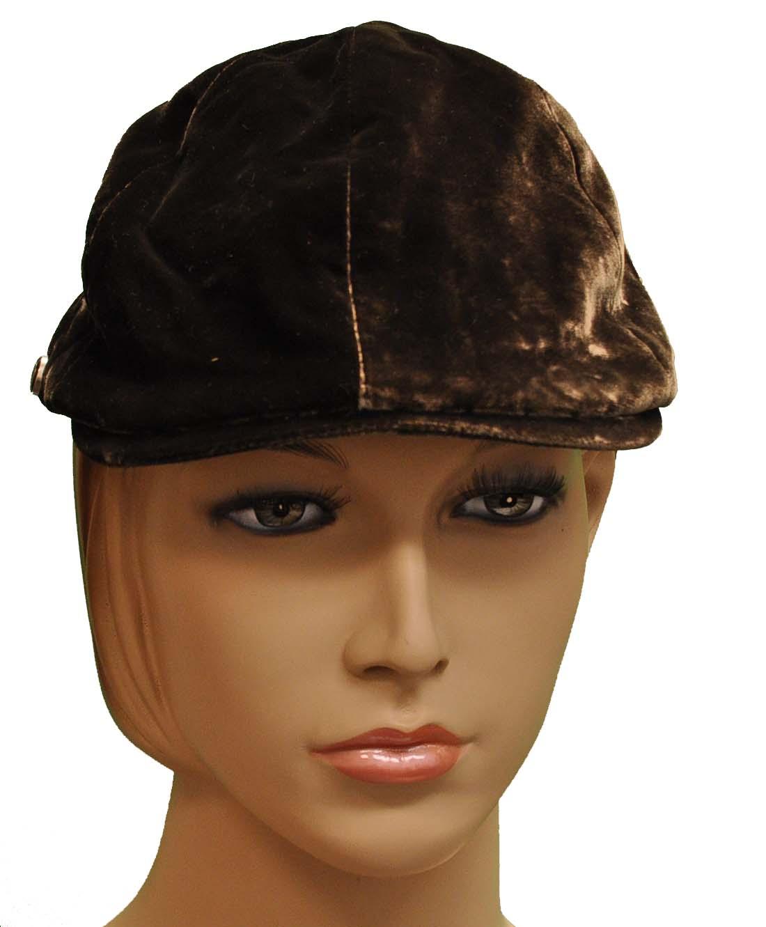 Giorgio Armani Brown Viscose Hat