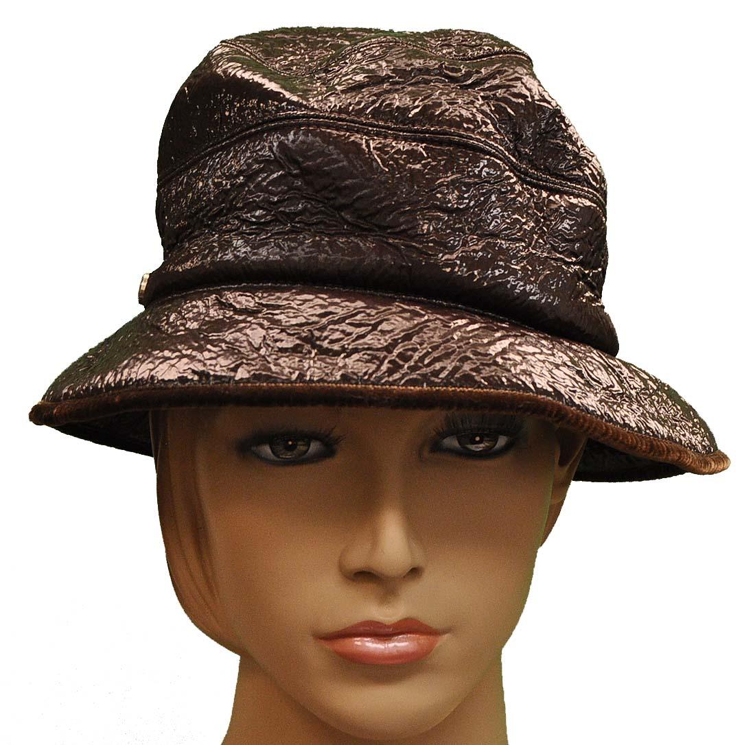Giorgio Armani Brown Wool Hat