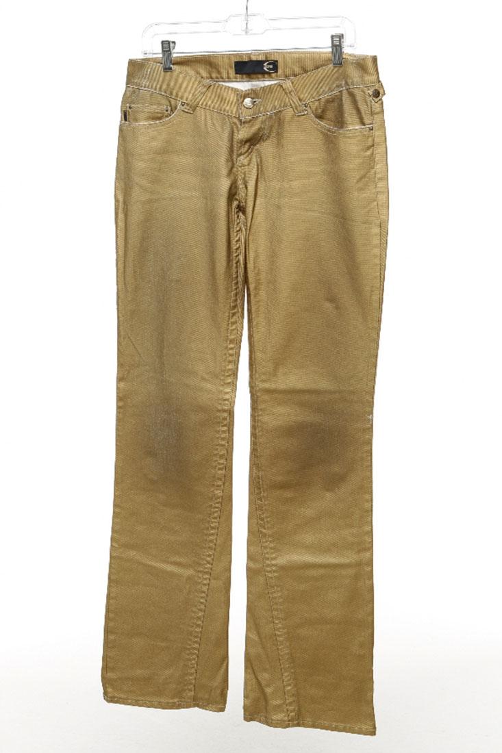Just Cavalli Gold Cotton Jean