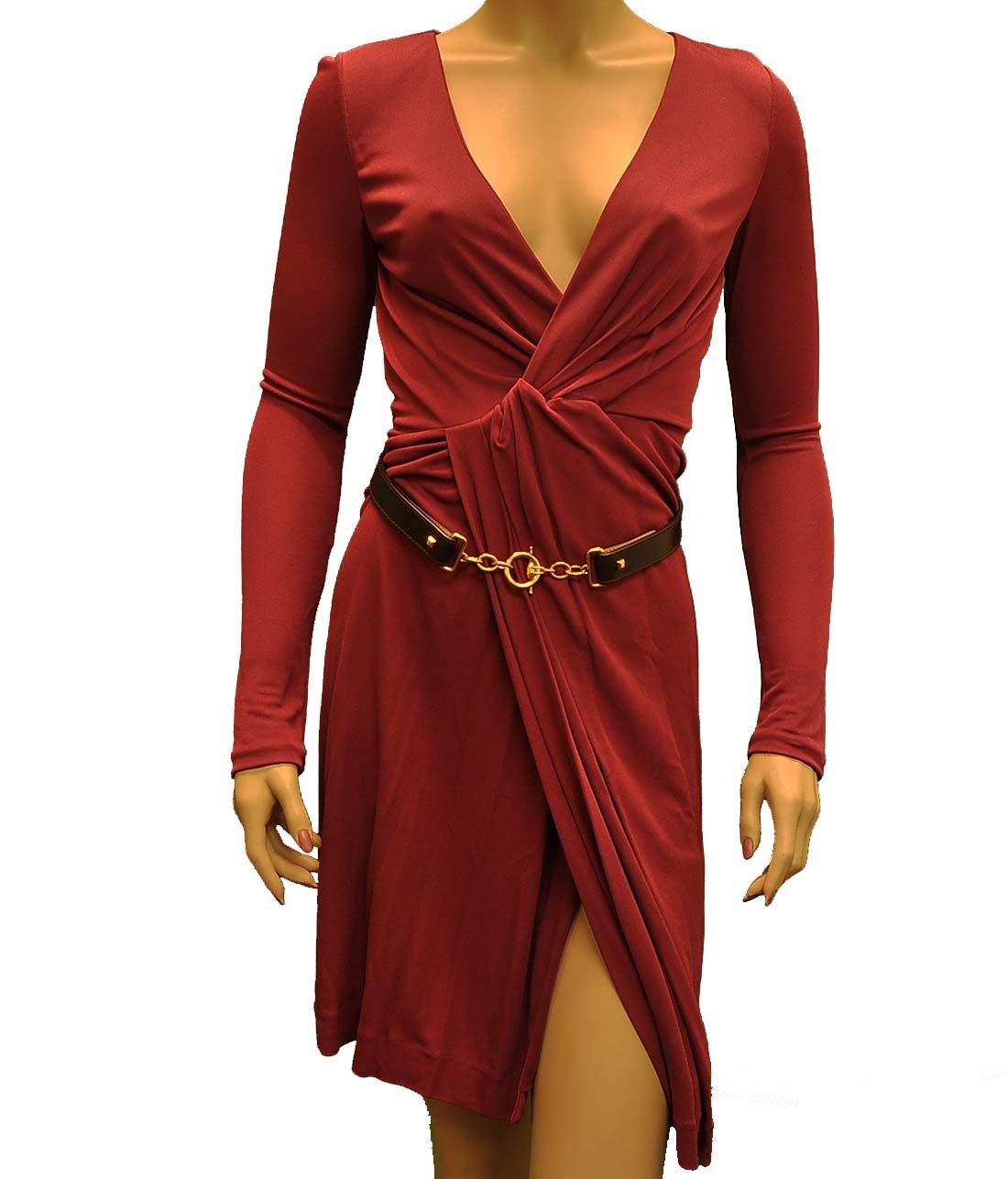 Gucci Purple / Pink Viscose Short Dress