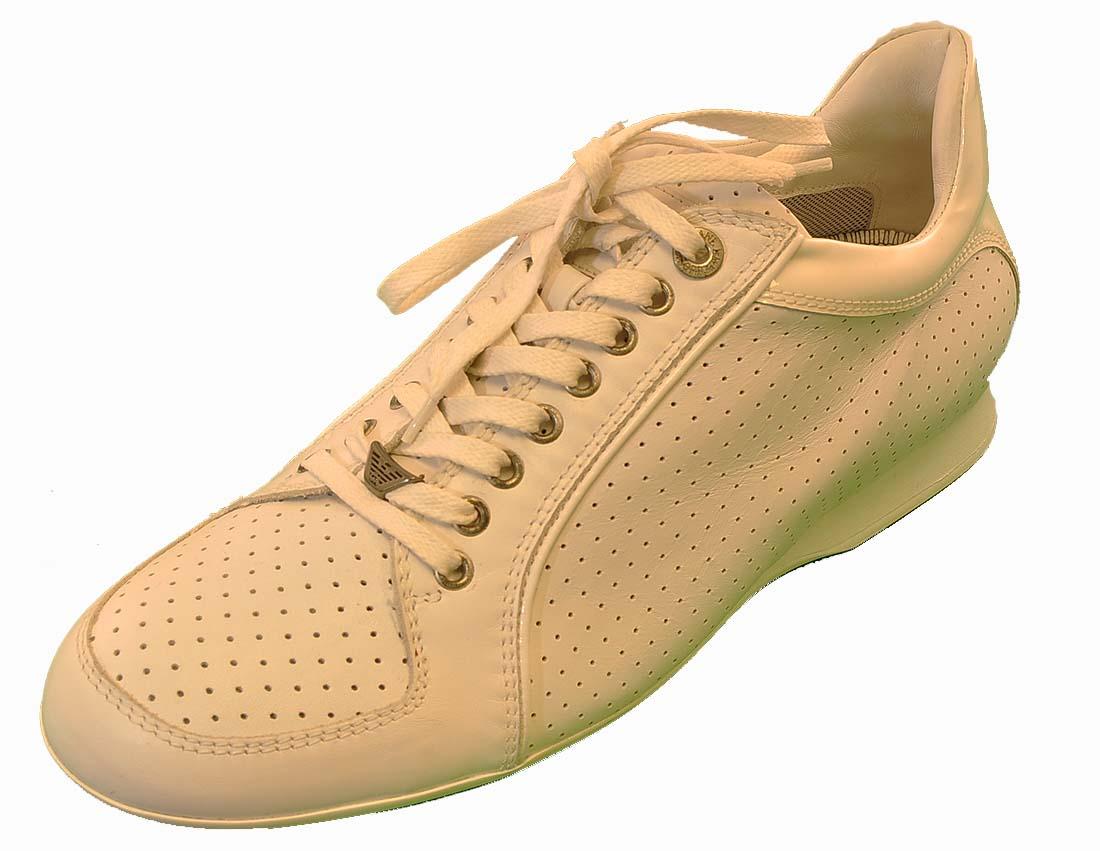 Emporio Armani White Shoes