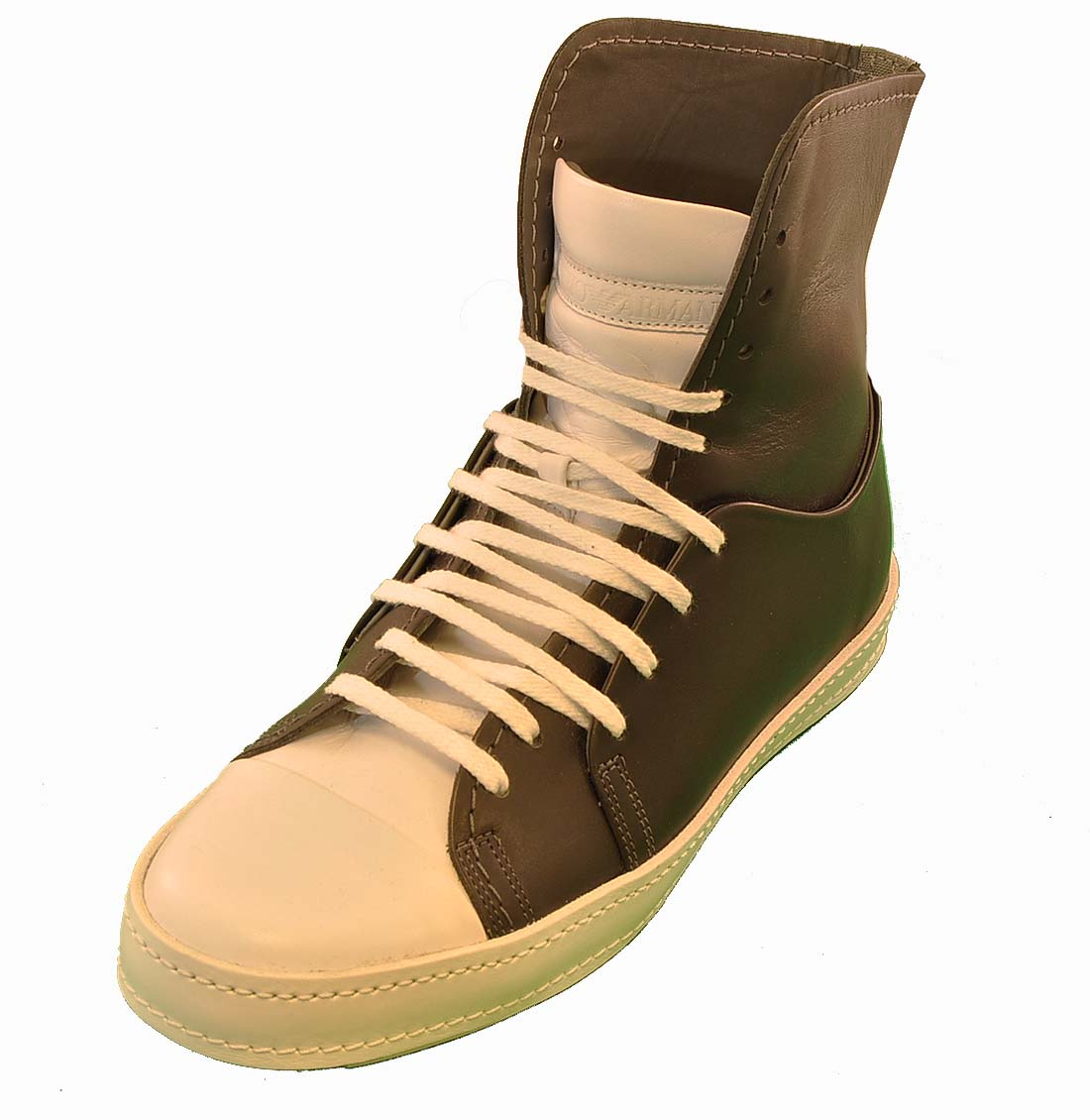 Emporio Armani BLACK Leather Shoe