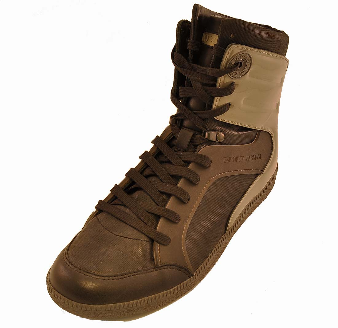 Emporio Armani Black Shoe