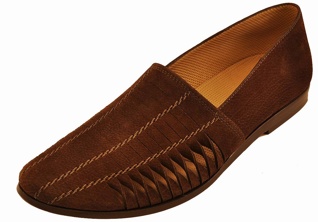 Giorgio Armani Brown Leather Shoes