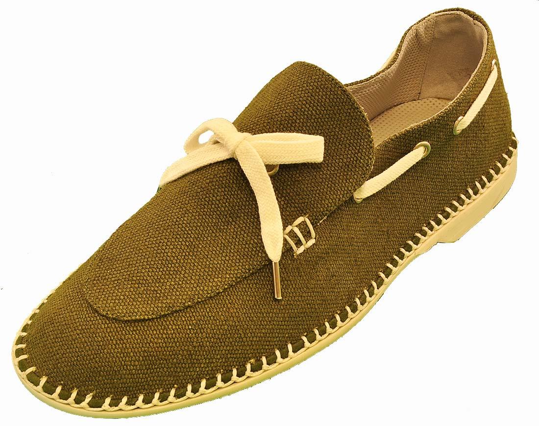 Giorgio Armani Green Shoe