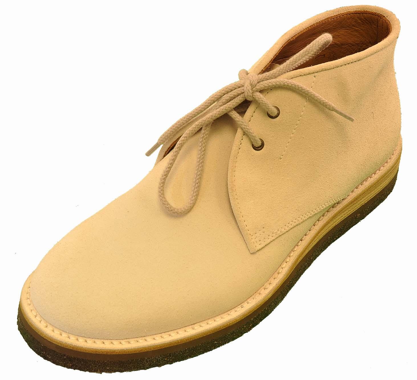 Giorgio Armani White Suede Shoe
