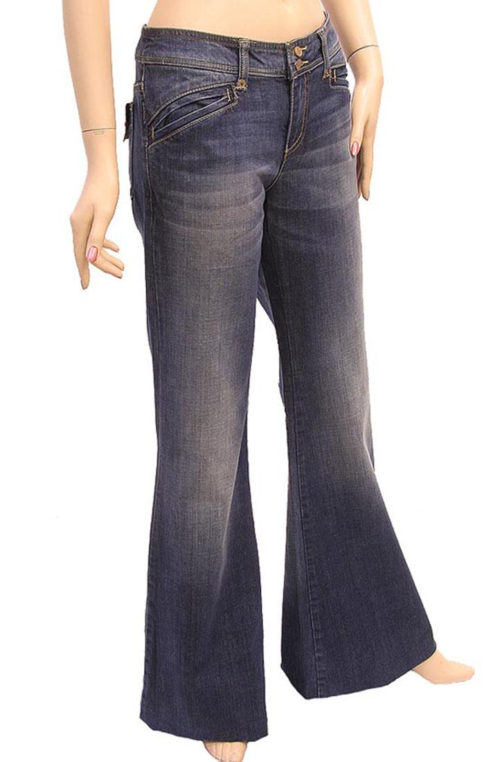 Armani Jeans Womens Jeans Pants Blue Cotton